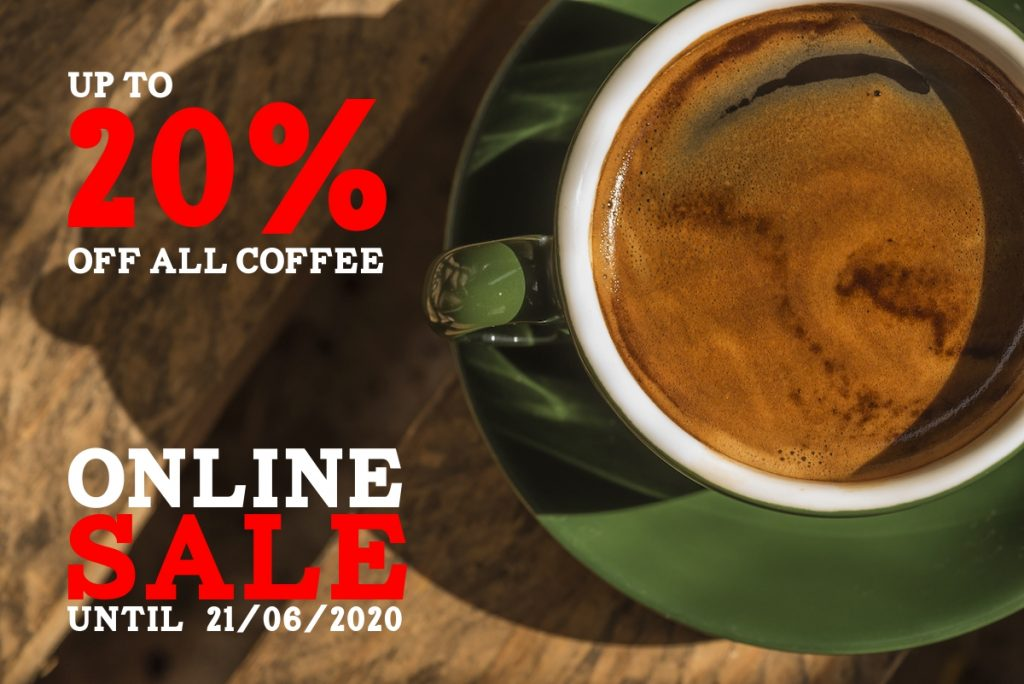 Mastertons online coffee sale June 2020 #LockdownDeal